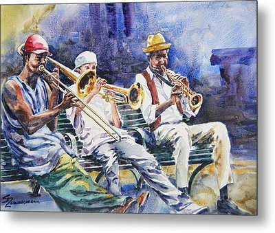 The Mentor Metal Print by Sue Zimmermann
