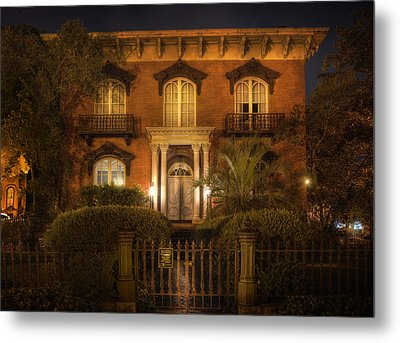 The Mercer House Metal Print by Mark Andrew Thomas