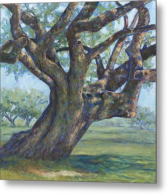 The Mighty Oak Metal Print by Billie Colson