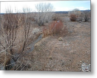 Metal Print featuring the photograph The Mighty Santa Fe River by Rob Hans