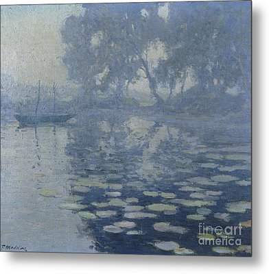 The Mill Pond Metal Print