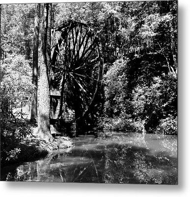 The Mill Wheel Metal Print