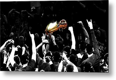 The Miracle At The Oracle Metal Print by Brian Reaves