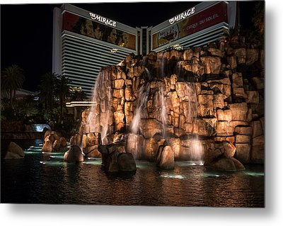 Metal Print featuring the photograph The Mirage by Ryan Photography