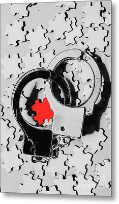 The Missing Puzzle Piece Metal Print by Jorgo Photography - Wall Art Gallery