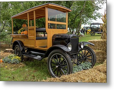 The Model T Pickup Metal Print