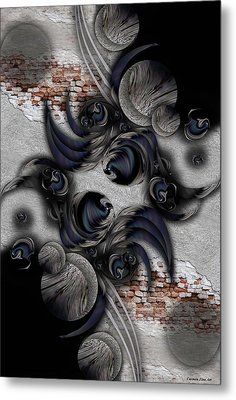 The Modern Projection Metal Print