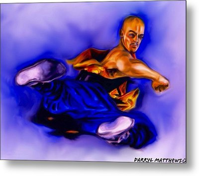 The Monk  Kick. Metal Print by Darryl Matthews