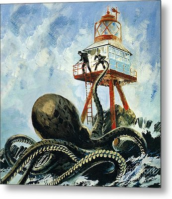 The Monster Of Serrana Cay Metal Print by Graham Coton