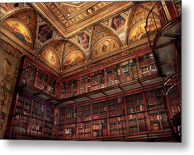Metal Print featuring the photograph The Morgan Library by Jessica Jenney