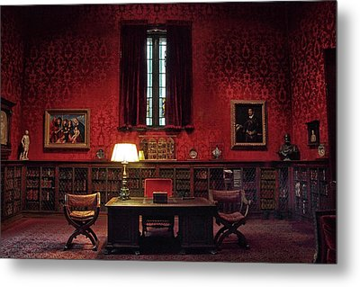 Metal Print featuring the photograph The Morgan Library Study by Jessica Jenney