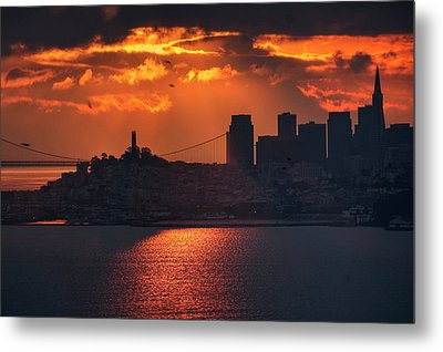The Morning Fog May Chill The Air, I Don't Care Metal Print