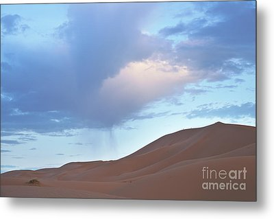 Metal Print featuring the photograph The Moroccan Dunes by Yuri Santin