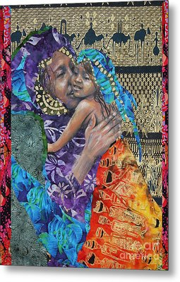 The Mother Line-teaching Our Daughters Well Metal Print