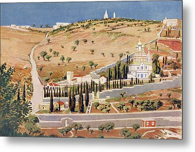 The Mount Of Olives, Jerusalem Metal Print