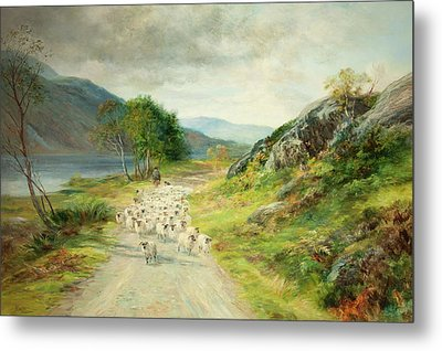 The Mountains Of Moidart Metal Print