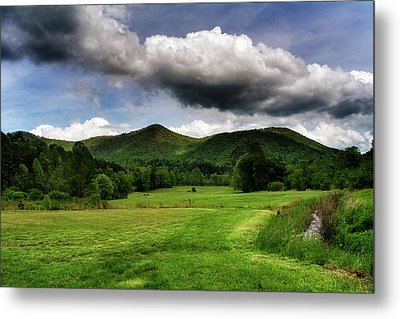 The Mountains Of Western North Carolina Metal Print by Greg Mimbs