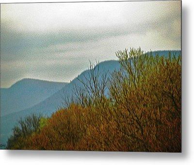 The Mountains Waken  Metal Print by Debra     Vatalaro