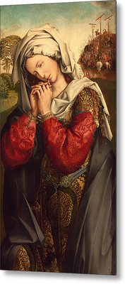 The Mourning Mary Magdalene Metal Print by Mountain Dreams