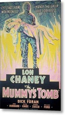 The Mummys Tomb, Lon Chaney, Jr., Elyse Metal Print