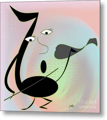 The Musician 2 Metal Print