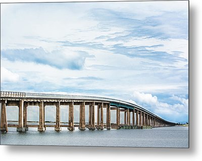 Metal Print featuring the photograph The Navarre Bridge by Shelby Young