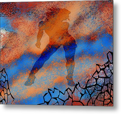 Metal Print featuring the photograph The Nebulous Future II by Shelly Stallings