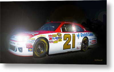 The Need For Speed 21 Metal Print