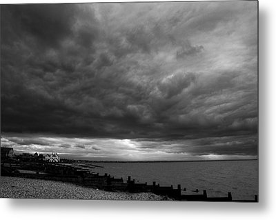 The Neptune Whitstable Metal Print