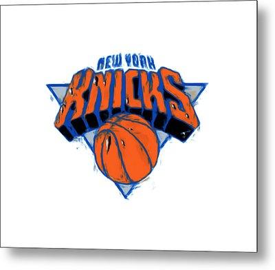 The New York Knicks Metal Print