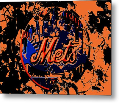 The New York Mets 6b Metal Print