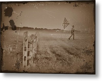 The Night They Drove Old Dixie Down Metal Print by Bill Cannon