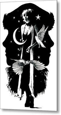 The Nightbird Metal Print by Johanna Pieterman