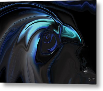 The Nighthawk Metal Print by Rabi Khan