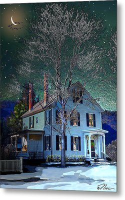 The Noble House Metal Print by Nancy Griswold