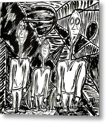 The Nod Trio Circa 1967 Metal Print