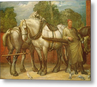 The Noonday Rest  Metal Print by George Frederick Watts