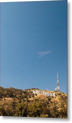The Nora Ephron Shot - Beachwood Canyon Metal Print