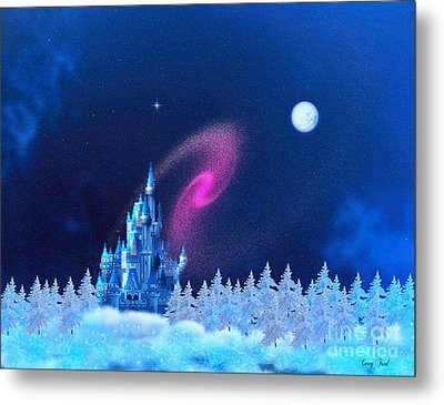The North Pole Metal Print by Corey Ford