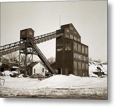 The Northwest Coal Company Breaker Eynon Pennsylvania 1971 Metal Print