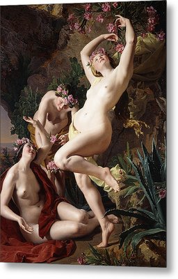 The Nymphs In Homer's Odyssey Metal Print