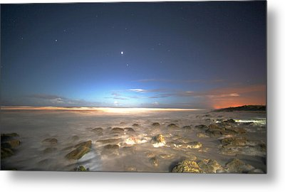 The Ocean Desert Metal Print