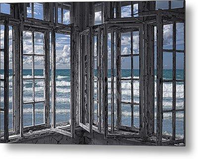 The Ocean Is Coming To Take It Away . . . Haha Metal Print by Joachim G Pinkawa