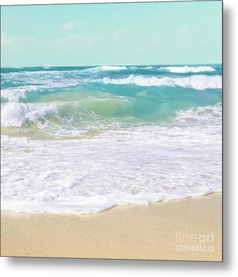 Metal Print featuring the photograph The Ocean by Sharon Mau