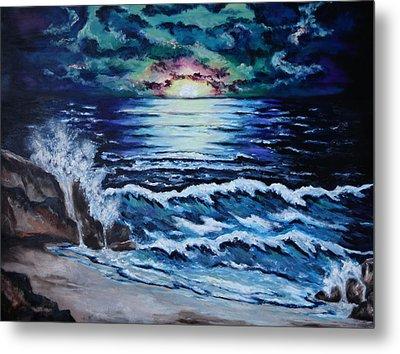 The Ocean Sings The Sky Listens Metal Print by Cheryl Pettigrew