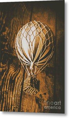 The Old Airship Metal Print