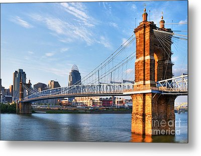 The Old And The New Metal Print by Mel Steinhauer
