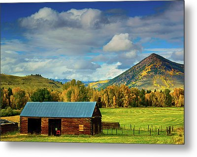 The Old Barn Metal Print