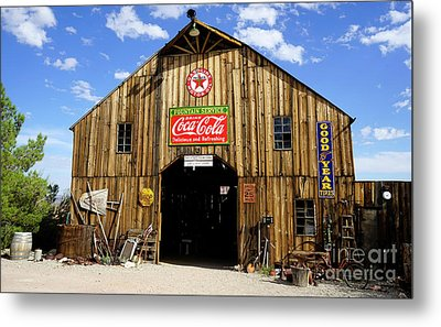 The Old Barn Metal Print by Nina Prommer