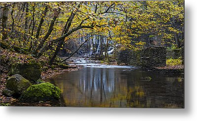 The Old Blanchard Mill Metal Print